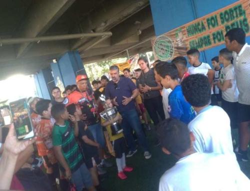 Jogo Solidário entre Arena Bela Vista e EEPSG Alayde Maria Vicente da Cidade de Guarulhos promove a cidadania!
